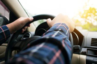 Ridesharing Driver and Car