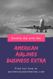 American Airlines Business Extra - Pin it for Later