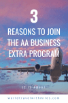 3 reasons to join AA business extra