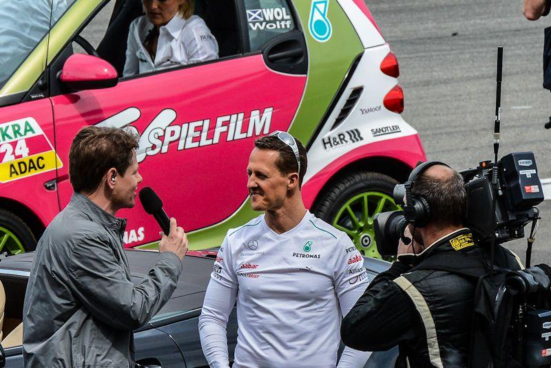 Michael Schumacher @ DTM Auftackt Hockenheim 2012