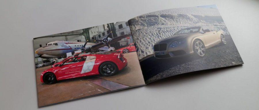 clixxie Fotobuch | Audi R8 e-tron x Bentley GTC