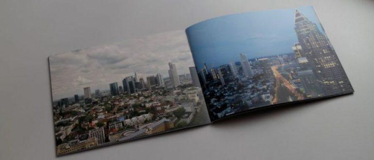 clixxie Fotobuch | Skyline Frankfurt day x night