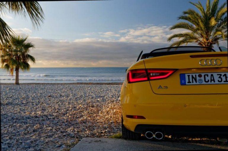 2014 Audi A3 Cabriolet Vegasgelb