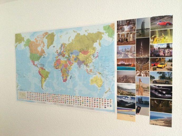 WORLDTRAVLR Fotomosaik
