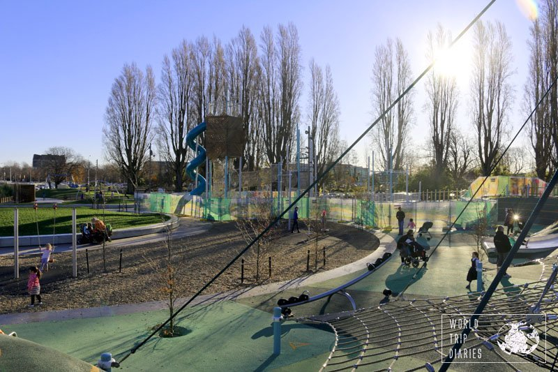 Margaret Mahy Playground, Christchurch