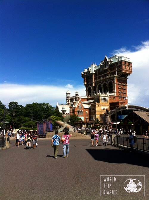tower of terror, disney sea