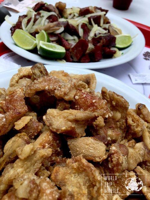 torresmo carne seca brazilian food