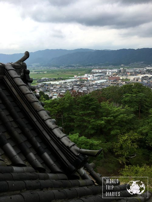 Iga-Ueno Castle view