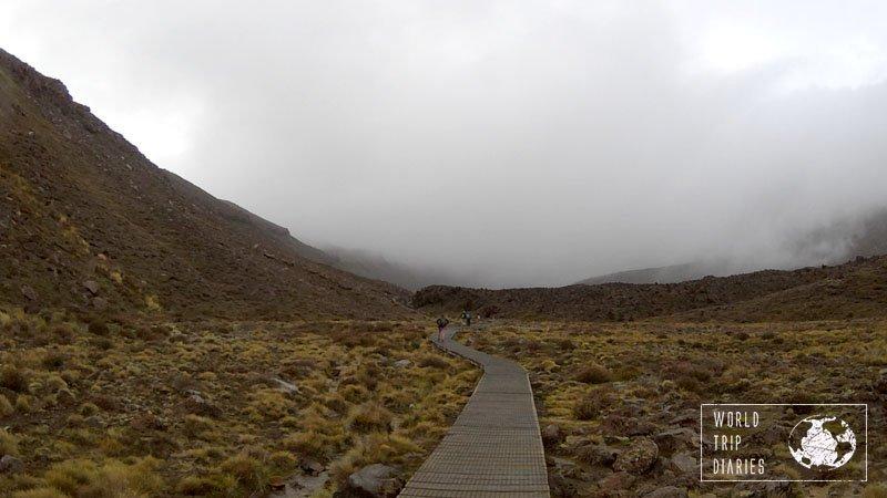 Tongariro Alpine Crossing, NZ