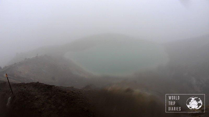 Tongariro Alpine Crossing, Blue Lake, NZ
