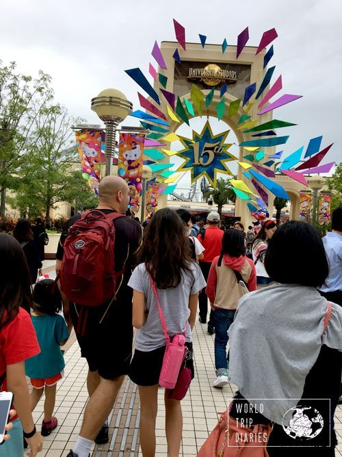 15th anniversary at USJ