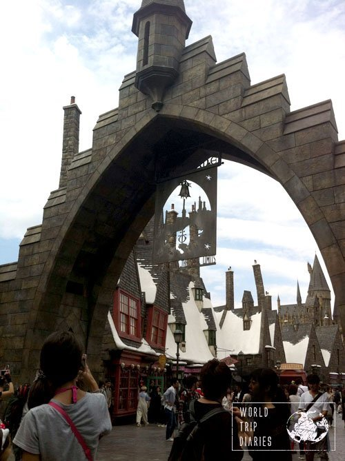 hogsmead entrance