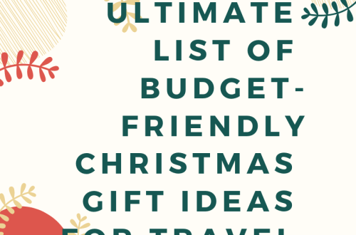 26 Budget-friendly Christmas Gift Ideas for Travel Lovers 5