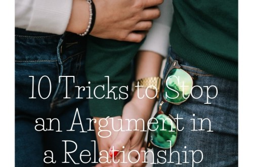 Top 10 Proven Tricks to Stop Fighting in a Relationship 3