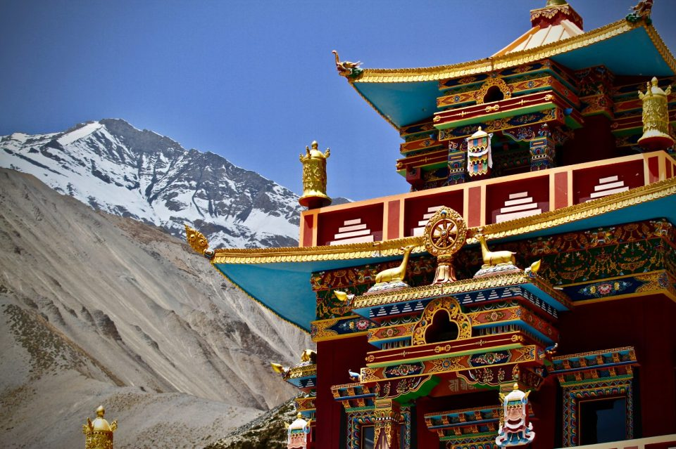 Image of the Tibetan Buddhist Monastery in Sikkim