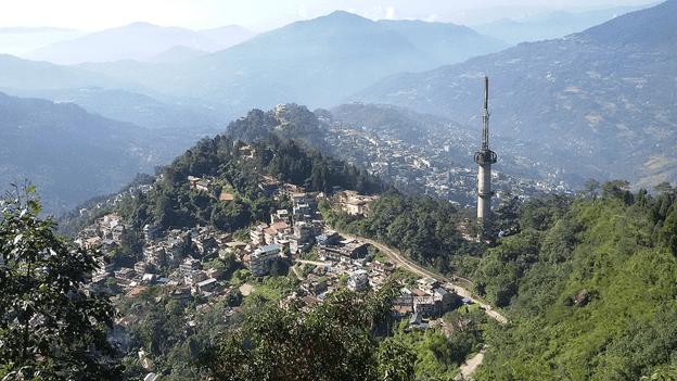 Image of Darjeeling town