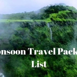 What Should be Your Monsoon Travel Packing List 9