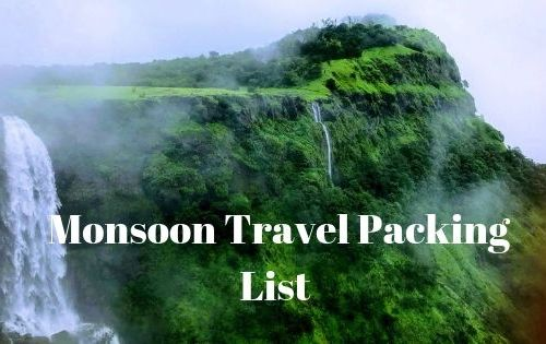 What Should be Your Monsoon Travel Packing List 6