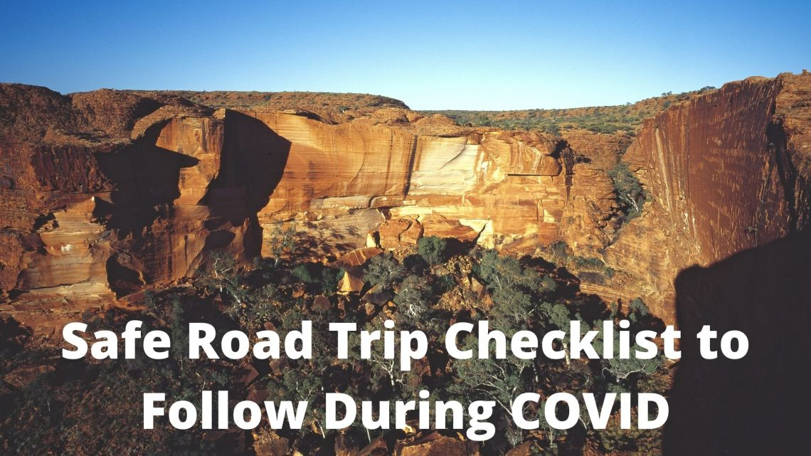 Safe road trip checklist during COVID