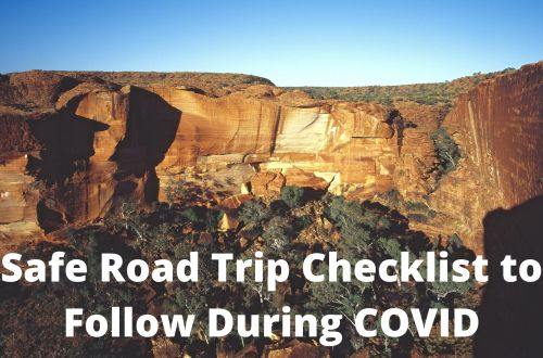 Safe road trip checklist during COVID