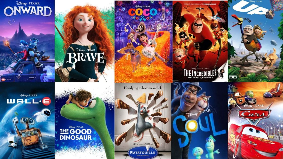 15 Best Pixar Movies for all ages