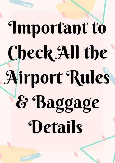 baggage deatils