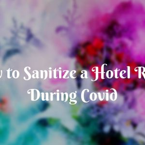 How to Sanitize a Hotel Room During Covid 4