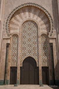 Gran Mosque in Casablanca, Morocco