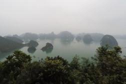 Vietnam: Ha Long Bay, bird view