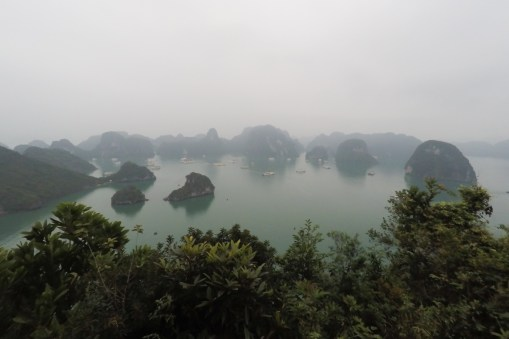 Vietnam: Ha Long Bay, bird view