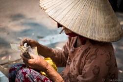 Vendor on the Hoi An market