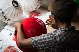Lantern maker in Hoi An