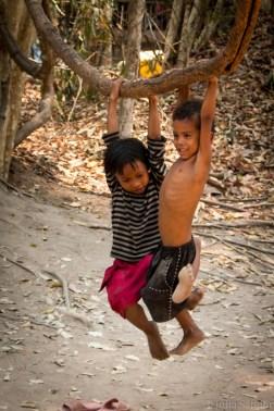 Cambodian playground