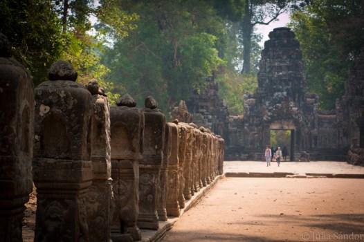 Entrance to Preah Khan temple