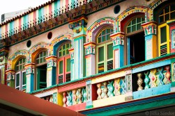 The most colourful building of Little India