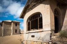 House in Kolmanskuppe - taken over by sand