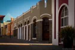 Deserted street in Lüderitz