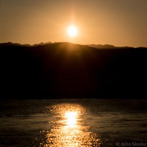 Sunset at Oranje River