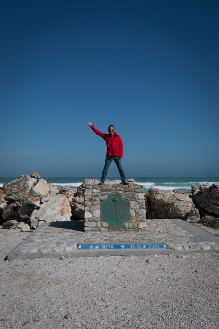 Most Southern point in Africa