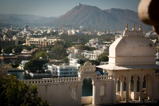 View from the City Palace Udaipur