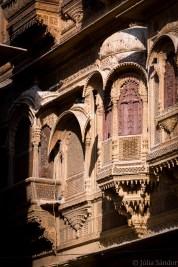 Facade of the Patwa Haveli in Jaisalmer