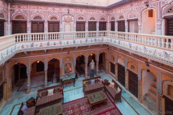 We spent the night in this beautiful converted haveli in Mandawa.