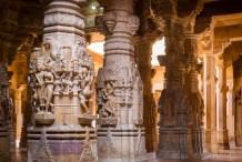 Jain temple in Jaisalmer Fort, India