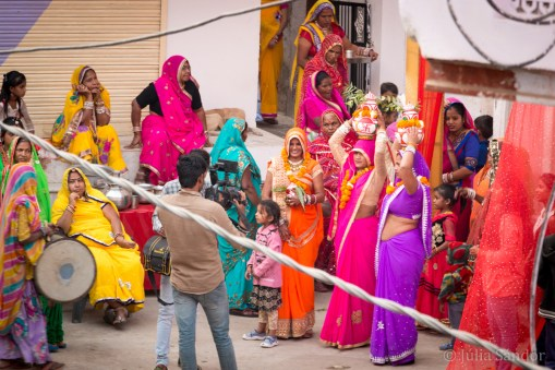 Bridal parade