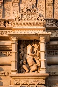 India impressions: Ganesha statue in Khajuraho
