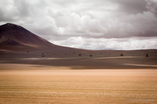 This surreal setting is called Salvador Dali Desert (and we understand why...)