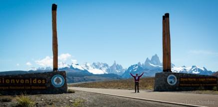 Giants entrance to the NP Los Glaciares