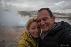 Worldviber at the Tatio Geyser