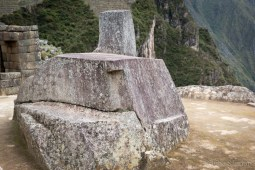 This ritual stone is the Intiwatana (Sundial), connected to Inca calendar, and was used for astrological purposes.