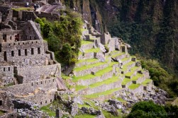 Terraces cover the steep hillsides